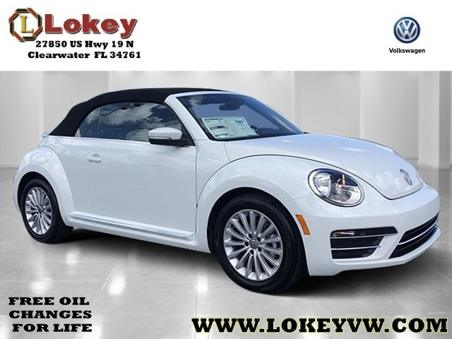 New 2019 Volkswagen Beetle Convertible 2 0T Final Edition SE FWD 2D Convertible